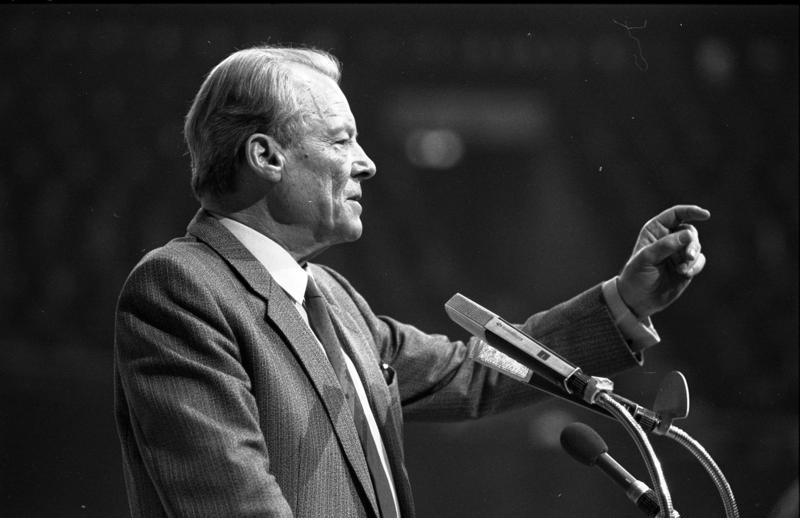 Dortmund, SPD-Parteitag, Willy Brandt